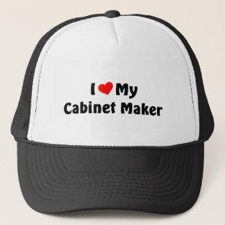 Jag älskar min kabinett tillverkare truckerkeps