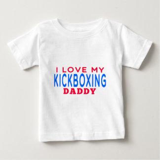 Jag älskar min kickboxing pappa t shirts