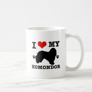 Jag älskar min Komondor Kaffemugg