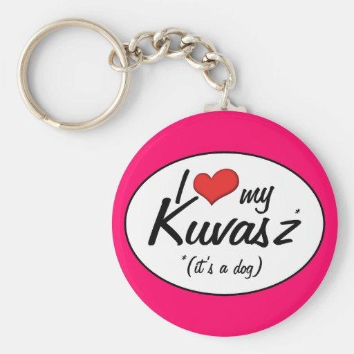 Jag älskar min Kuvasz (det är en hund), Nyckelring