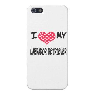 JAG ÄLSKAR MIN LABRADOR RETRIEVER iPhone 5 COVER