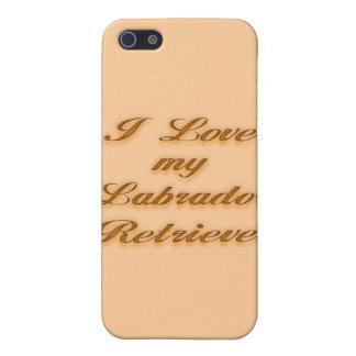 Jag älskar min Labrador Retriever iPhone 5 Hud