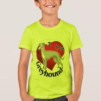 Jag älskar min lyckliga förtjusande roliga & tee shirts