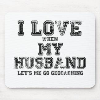Jag älskar min make! musmatta