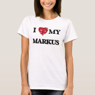 Jag älskar min Markus Tshirts