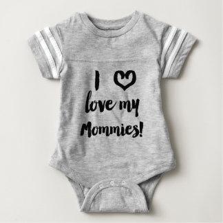 Jag älskar min MommiesbabyJersey skjorta Tröjor