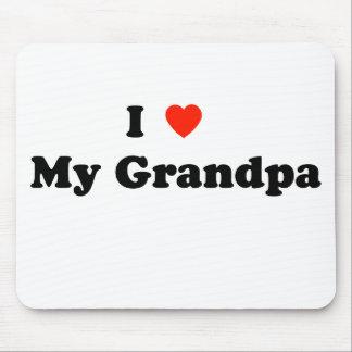 Jag älskar min morfar Mousepad Musmatta