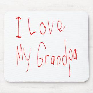 Jag älskar min morfar! Mousepad Musmatta