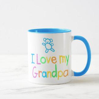 Jag älskar min morfarmugg mugg