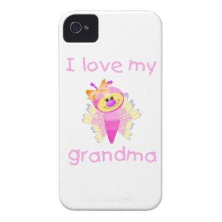Jag älskar min mormor (den flutterby flickan) Case-Mate iPhone 4 case