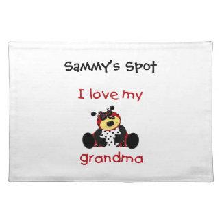 Jag älskar min mormor (flickanyckelpigan) bordstablett