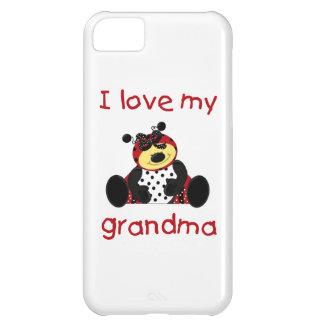 Jag älskar min mormor (flickanyckelpigan) iPhone 5C fodral