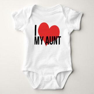 Jag älskar min mosterbabyskjorta tshirts