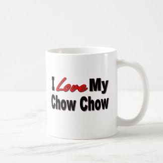 Jag älskar min mugg för hund 2 för ChowChow sid