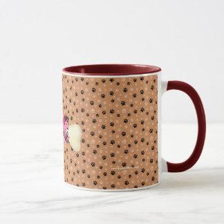 Jag älskar min mugg för kaffe för Yorkie bentass