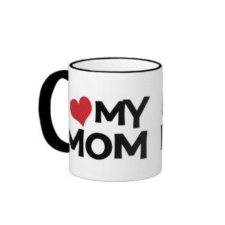 Jag älskar min mugg för mammamors dagringeren