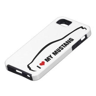 Jag älskar min Mustang iPhone 5 Case-Mate Skal