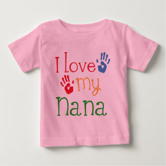 Jag älskar min Nana Handprints T-shirts