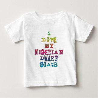 Jag älskar min nigerianska dvärg- getter t-shirt