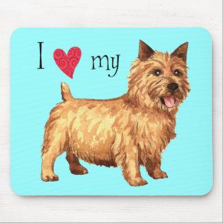 Jag älskar min Norwich Terrier Musmatta