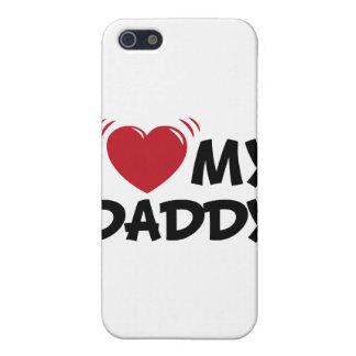 Jag älskar min pappa iPhone 5 fodral