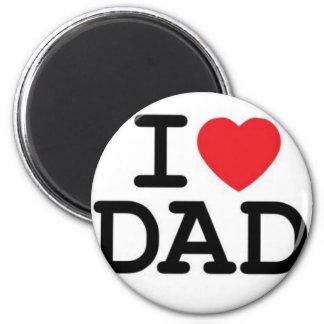 Jag älskar min pappa! kylskåpsnagnet
