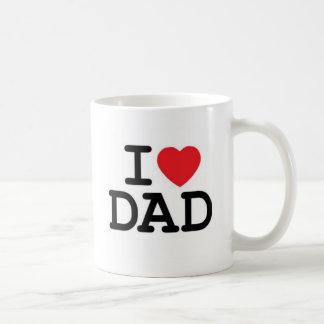 Jag älskar min pappa kaffe kopp