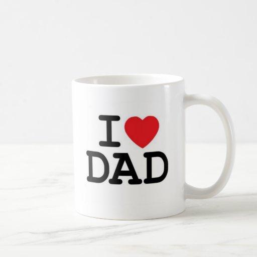 Jag älskar min pappa! kaffe kopp