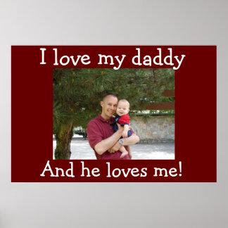 Jag älskar min pappa poster