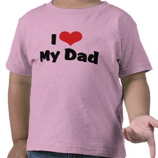 Jag älskar min pappaT-tröja