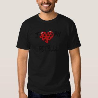 Jag älskar min Pitbull Tee Shirt