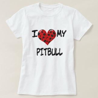 Jag älskar min Pitbull Tshirts