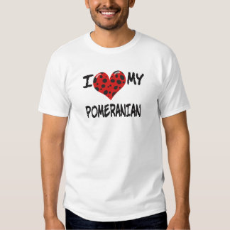 Jag älskar min Pomeranian T Shirt