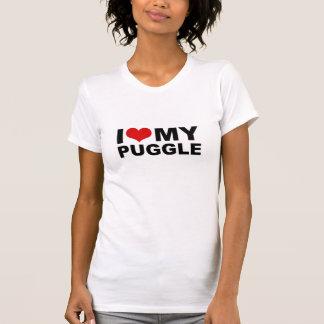 Jag älskar MIN Puggle skjorta Tshirts
