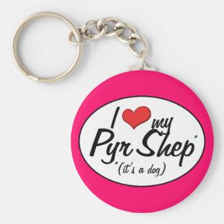 Jag älskar min Pyr Shep (det är en hund), Nyckelringar