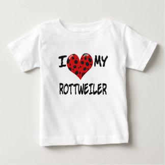 Jag älskar MIN ROTT-WEILER T Shirt