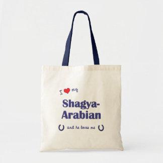Jag älskar min Shagya-Arab (den Male hästen) Tygkasse