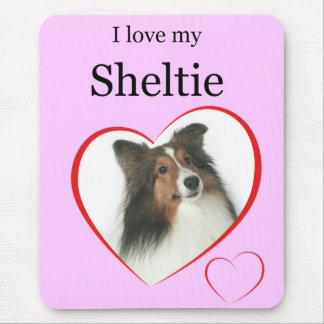Jag älskar min Sheltie #2 Musmatta