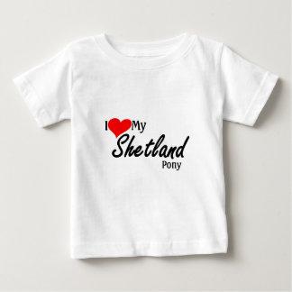 Jag älskar min shetland ponny t shirt