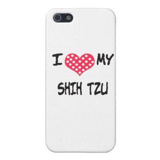 Jag älskar min Shih Tzu iPhone 5 Fodraler
