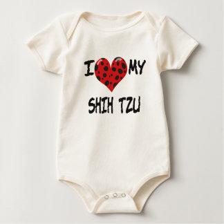 Jag älskar min Shih Tzu Krypdräkt