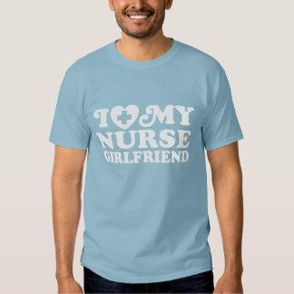 Jag älskar min sjuksköterskaflickvän t shirts