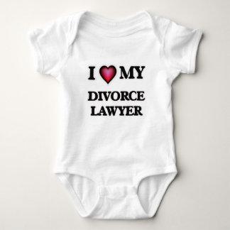 Jag älskar min skilsmässaadvokat t shirt