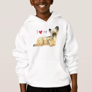 Jag älskar min Skye Terrier T-shirts