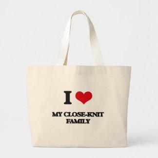 Jag älskar min Slut-Sticka familj Tote Bag