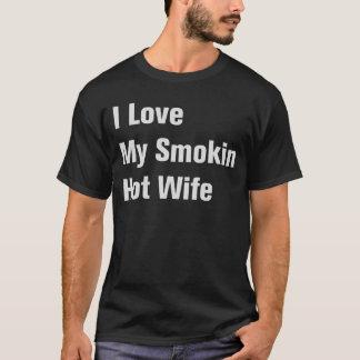Jag älskar min Smokin hoade fru Tröja