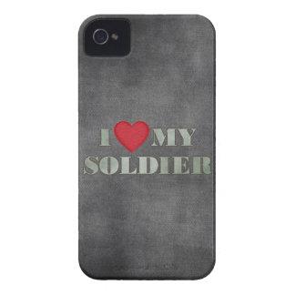 Jag älskar min soldat iPhone 4 hud