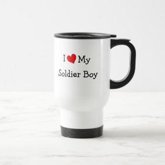 Jag älskar min soldatpojke resemugg
