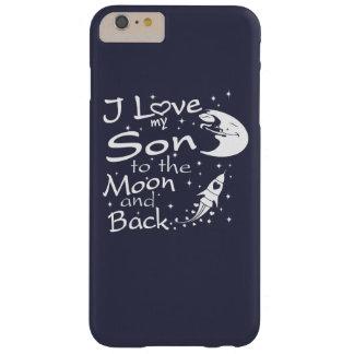 Jag älskar min Son till månen och drar tillbaka Barely There iPhone 6 Plus Fodral