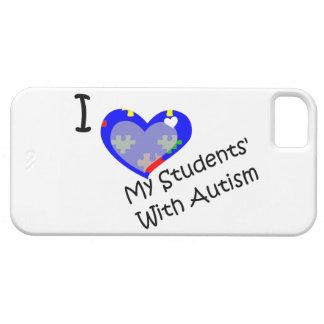 Jag älskar min studenter med fodral för iPhone 5 skydd